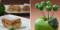 עוגת תפוחים בניחוח לימון