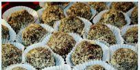 כדורי שוקולד וחלבה